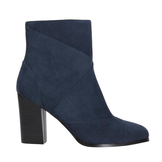 Blaue Damenstiefeletten bata, Blau, 799-9615 - 15