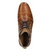 Knöchelschuhe aus Leder mit Reissverschluss bata, Braun, 826-3911 - 26