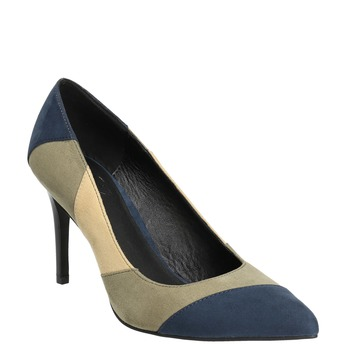Pumps mit Stiletto-Absatz insolia, Blau, 729-9607 - 13