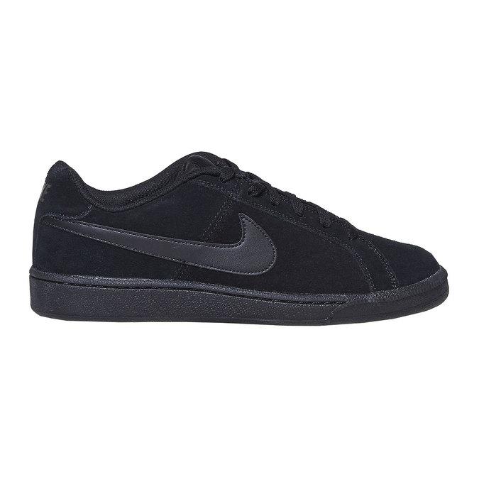 Herren-Sneakers aus Leder nike, Schwarz, 803-6302 - 15