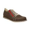 Damen-Sneakers aus Leder weinbrenner, Braun, 546-4604 - 13