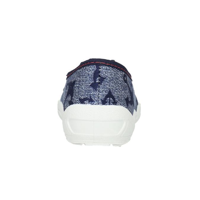 Kinder-Hausschuhe mit Anker mini-b, Blau, 379-2213 - 17