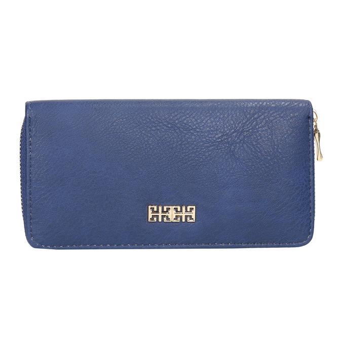 Blaue Damen-Geldbörse bata, Blau, 941-9180 - 26