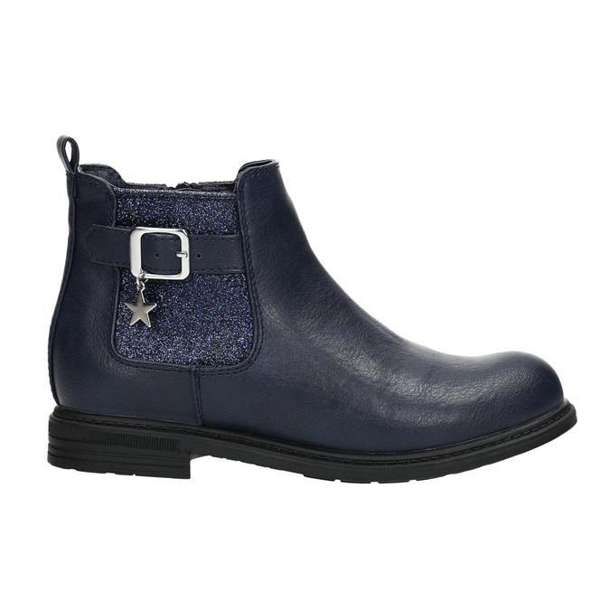 Blaue Chelsea-Boots für Kinder mini-b, Blau, 321-9613 - 15