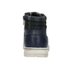 Knöchelhohe Kinderschuhe mit Reissschluss mini-b, Blau, 311-9611 - 17