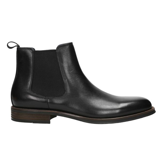 Chelsea Boots aus Leder bata, Schwarz, 894-6400 - 15