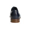 Blaue Lederhalbschuhe bata, Blau, 826-9680 - 17