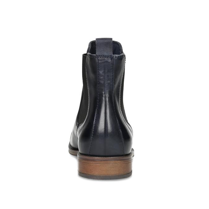 Damen-Chelsea-Boots aus Leder bata, Schwarz, 594-9636 - 15