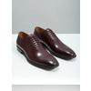 Herren-Lederhalbschuhe im Oxford-Look bata, Rot, 826-5683 - 18