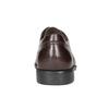 Braune Lederhalbschuhe im Derby-Look fluchos, Braun, 824-4442 - 16