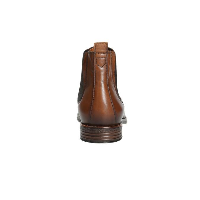 Braune Chelsea Boots aus Leder bata, Braun, 896-3673 - 17