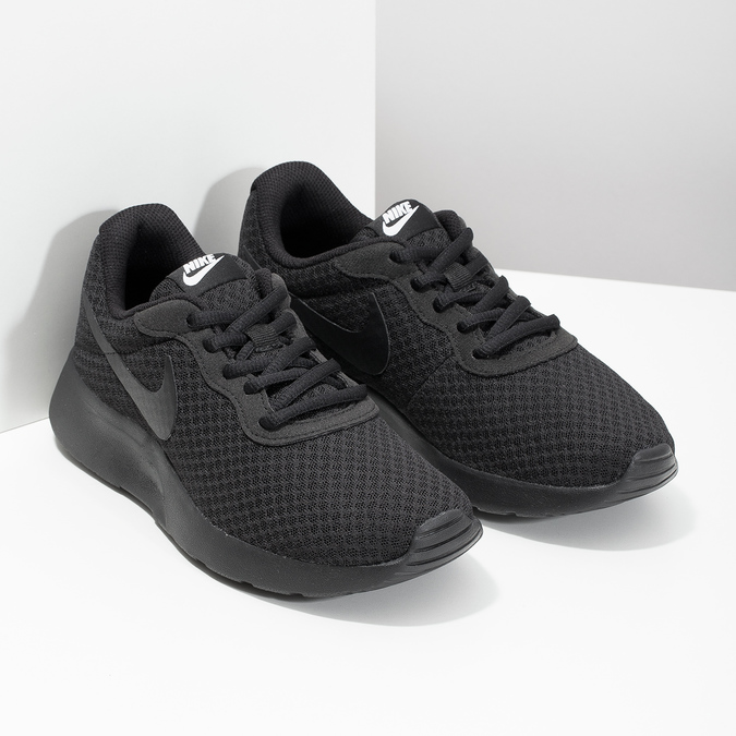 Schwarze Damen-Sneakers, Schwarz, 509-0157 - 26