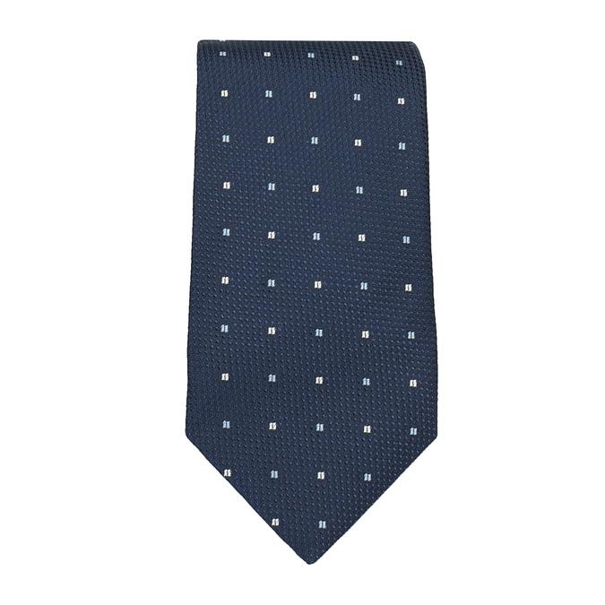 Herren-Set, bestehend aus Krawatte und Einstecktuch bata, Blau, 999-9294 - 26