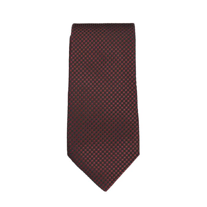 Set, bestehend aus Krawatte und Einstecktuch mit Muster bata, Rot, 999-5292 - 26