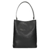 Schwarze Hobo-Damenhandtasche, Schwarz, 961-2173 - 26