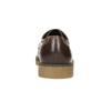 Braune Halbschuhe aus Leder bata, Braun, 826-4620 - 17