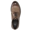 Braune Halbschuhe aus Leder bata, Braun, 826-4620 - 26