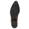Damen-Chelsea-Boots aus Leder mit Absatz vagabond, Braun, 614-4020 - 19