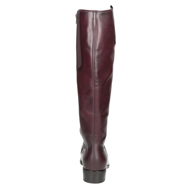 Weinrote Lederstiefel gabor, Rot, 696-5191 - 16