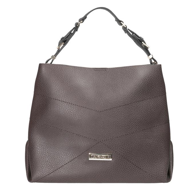 Braune Damenhandtasche cafe-noir, Braun, 961-4096 - 26