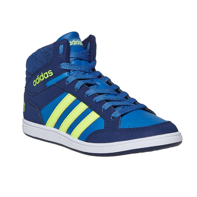 Knöchelhohe Kinder-Sneakers adidas, Blau, 401-9291 - 13