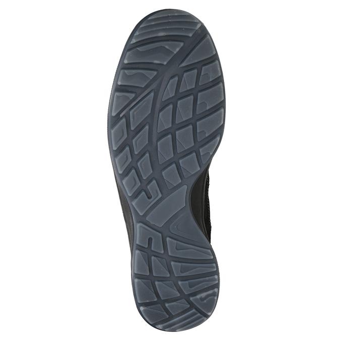 Herren-Outdoor-Schuhe aus Leder weinbrenner, Grau, 846-2647 - 17