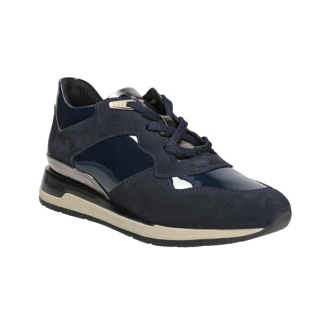 Blaue Damen-Sneakers geox, Blau, 623-9042 - 13