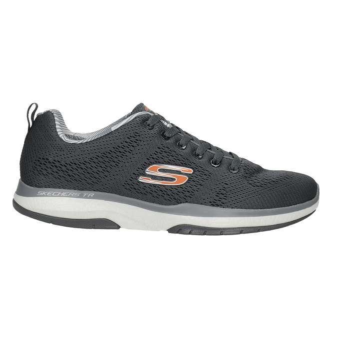 Graue, sportliche Sneakers skechers, Grau, 809-2330 - 26