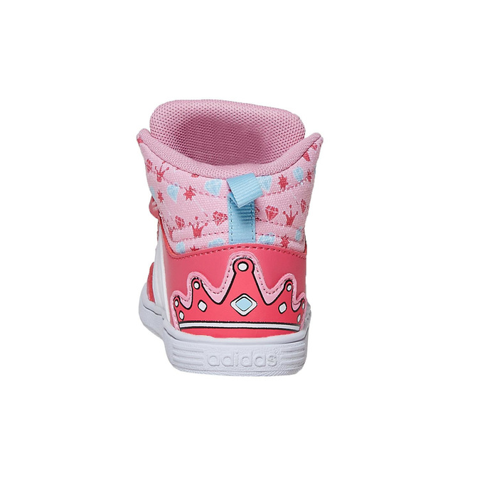Knöchelhohe Mädchen-Sneakers adidas, Rosa, 101-5292 - 17