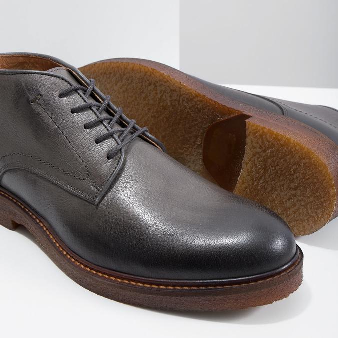Chukka Boots aus Leder bata, Grau, 826-3919 - 14