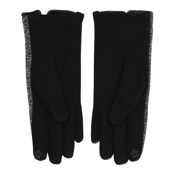 Damenhandschuhe mit Schleifchen, Schwarz, 909-6615 - 16
