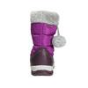Mädchen-Schneestiefel mit Pompons mini-b, Violett, 399-5656 - 17