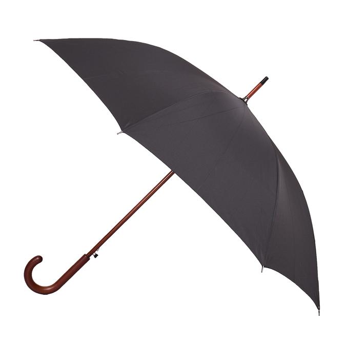 Großer, schwarzer Regenschirm doppler, Schwarz, 909-6661 - 13