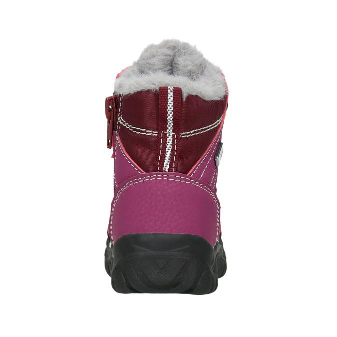 Winterschuhe für Mädchen bubblegummer, Rot, 199-5603 - 16