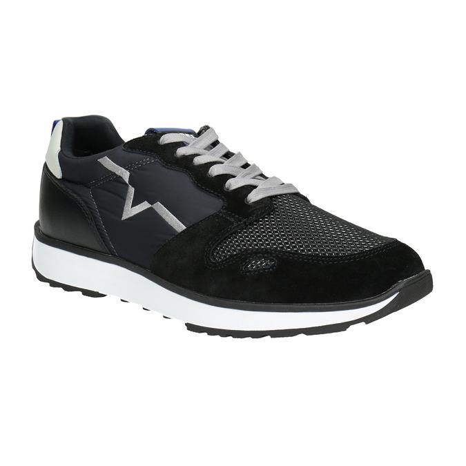 Legere Herren-Sneakers diesel, Schwarz, 809-6638 - 13