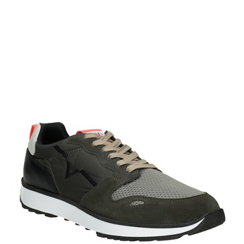 Herren-Sneakers mit markanter Sohle diesel, Grűn, 809-7638 - 13