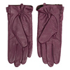 Damenhandschuhe aus Leder bata, Violett, 904-0109 - 16