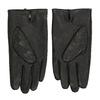 Schwarze Lederhandschuhe bata, Schwarz, 904-6130 - 16