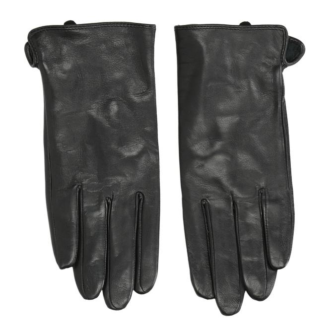 Damenhandschuhe aus Leder, Schwarz, 904-6129 - 26