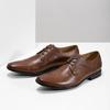 Braune Herrenhalbschuhe aus Leder bata, Braun, 826-3758 - 16