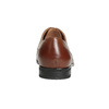 Braune Herrenhalbschuhe aus Leder bata, Braun, 826-3758 - 15