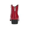Rote Lederstiefeletten bata, Rot, 594-5665 - 15