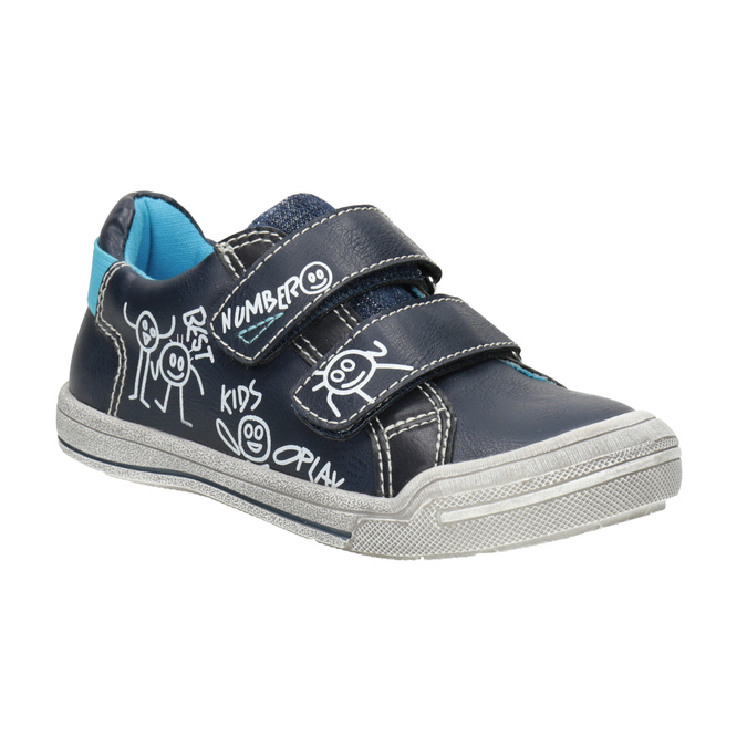 Legere Kinder-Sneakers mini-b, Blau, 211-9217 - 13