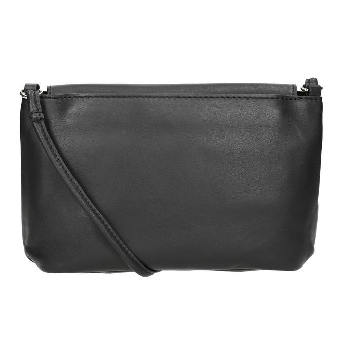 Crossbody-Damenhandtasche aus Leder bata, Schwarz, 964-6291 - 16