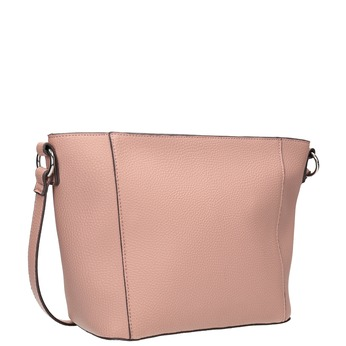 Damenhandtasche mit Steppnaht bata, Rosa, 961-5842 - 13