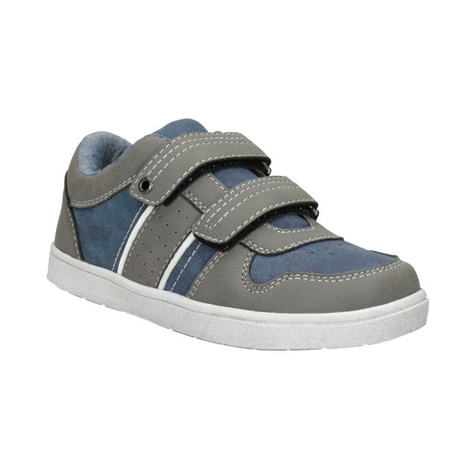 Kinder-Sneakers mit Klettverschluss mini-b, Grau, 411-2101 - 13