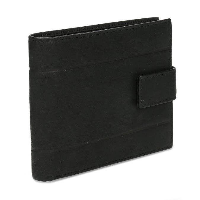 Herrengeldbörse aus Leder, Schwarz, 944-6210 - 13