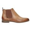 Damen-Chelsea-Boots aus Leder bata, Braun, 596-3684 - 26