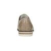 Damenhalbschuhe aus Leder bata, Beige, 526-8650 - 15