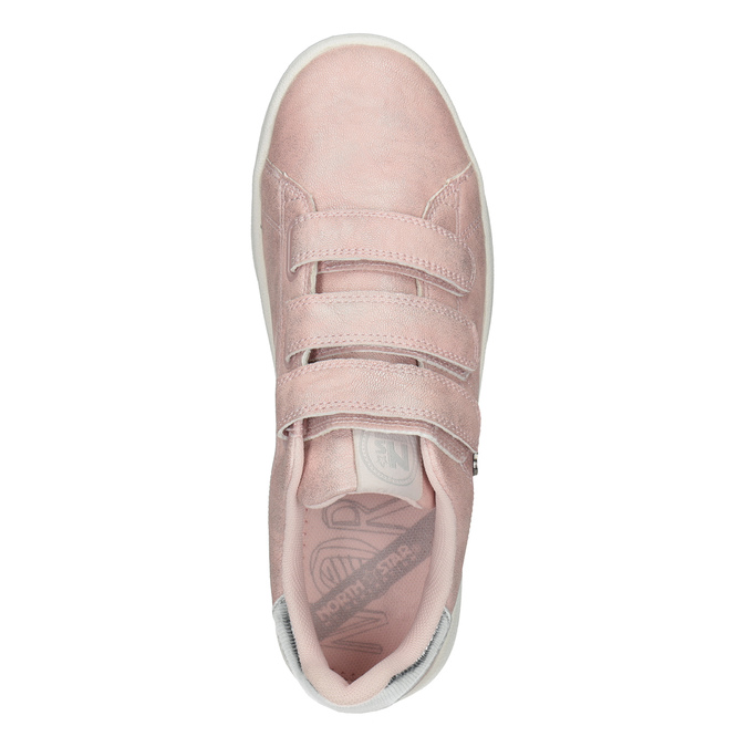 Legere, rosa Damen-Sneakers north-star, Rosa, 549-5604 - 17